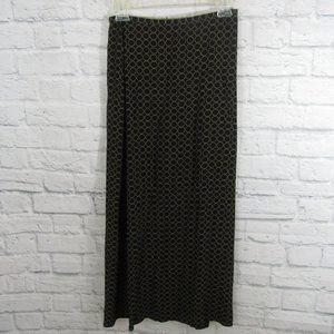 3/$15 Josephine Chaus Black Circle Skirt Size 4